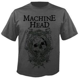 tričko metal NUCLEAR BLAST Machine Head Clock GREY černá L
