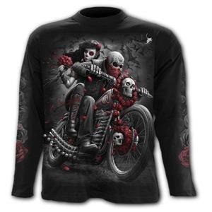 tričko SPIRAL DOTD BIKERS černá M