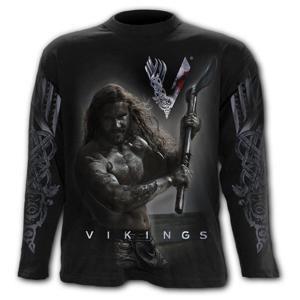 tričko SPIRAL Vikingové Vikingové černá L