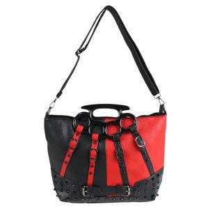 kabelka (taška) POIZEN INDUSTRIES - HARLEY - BLACK/RED - POI653