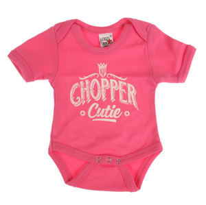 body dětské WEST COAST CHOPPERS - ONESIE CHOPPER CUTIE BABY CREEPER - Rose - WCCRP005RS
