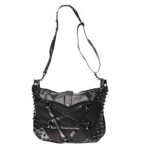 taška (kabelka) Vixxsin - SPELL - BLACK - POI812