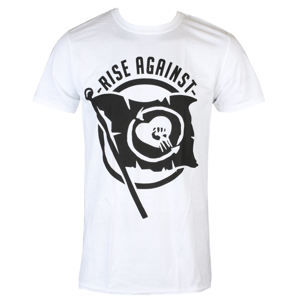 tričko metal KINGS ROAD Rise Against Flag černá XXL