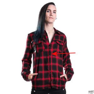 košile pánská VIXXSIN - Corner Shirt - Red - POŠKOZENÁ - MA274