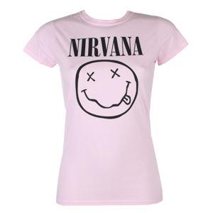 tričko metal PLASTIC HEAD Nirvana SMILEY černá M