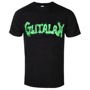Tričko metal ROTTEN ROLL REX Gutalax Green Logo černá L