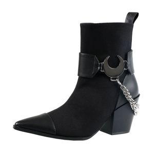 boty na podpatku KILLSTAR Luna vícebarevná 39
