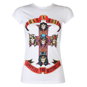 tričko dámské Guns N' Roses - Appetite For Destruction - ROCK OFF - GNRTSP01LW S