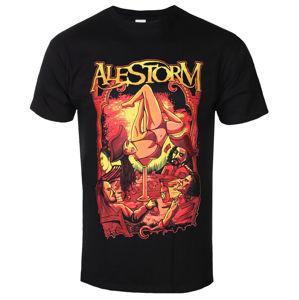 Tričko metal PLASTIC HEAD Alestorm SURRENDER THE BOOTY černá
