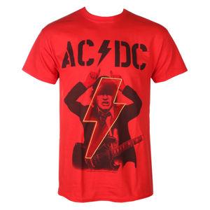 tričko pánské AC/DC - Angus - POWER UP - Red - RAZAMATAZ - ST2443 S