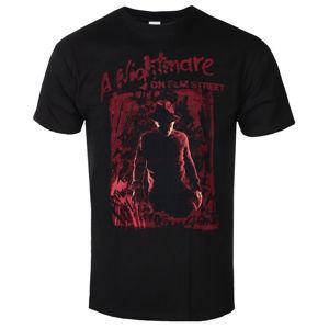 tričko pánské Nightmare On Elm Street - Freddy Silhouette - Black - BILNES00006-MN-TS-BLK M