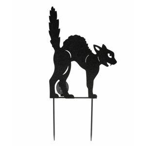 dekorace zahradní ALCHEMY GOTHIC - Black Cat - GL-QZ2