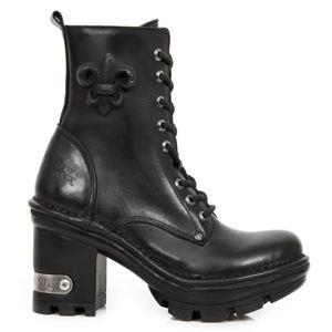 boty na podpatku NEW ROCK ITALI NEGRO NEOTYRE vícebarevná 38