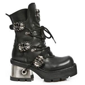 boty na podpatku dámské - ITALI PLANING NEW M8 ACERO - NEW ROCK - M.1044-S1