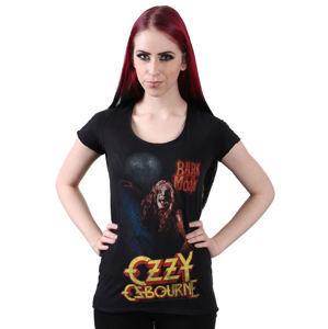 AMPLIFIED Ozzy Osbourne Bark At The Moon černá