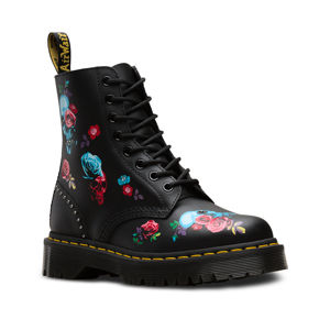 boty kožené unisex - 8 dírkové - Dr. Martens - DM24424001 41