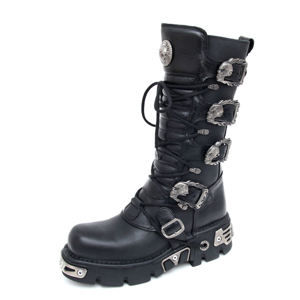 boty NEW ROCK - 5-Buckle Boots (402-S1) Black