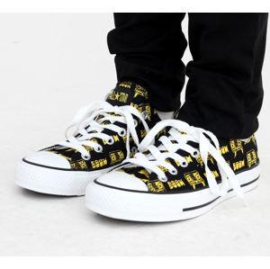tenisky nízké CONVERSE CT Punk OX černá bílá žlutá 36