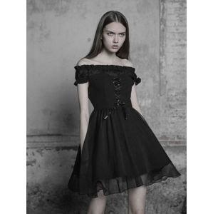 šaty dámské PUNK RAVE - Selina - OPQ-338 BK S
