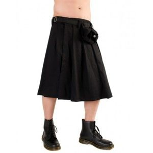kilt Black Pistol - Short Kilt Denim Black - B-2-10-001-00 L
