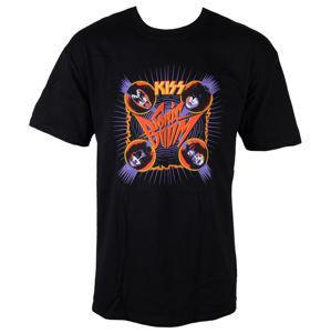 Tričko metal LIVE NATION Kiss Sonic Bomb černá béžová vícebarevná