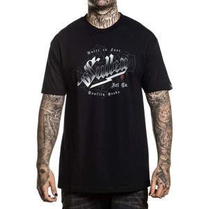tričko hardcore SULLEN BOLTS černá L