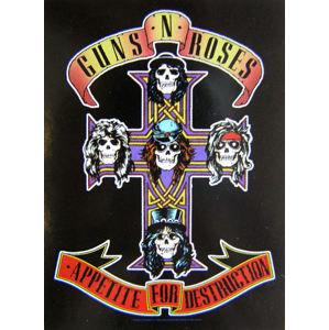 HEART ROCK Guns N' Roses Cross