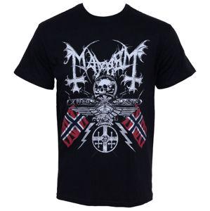 Tričko metal RAZAMATAZ Mayhem 25 Years Coat of Arms černá vícebarevná L