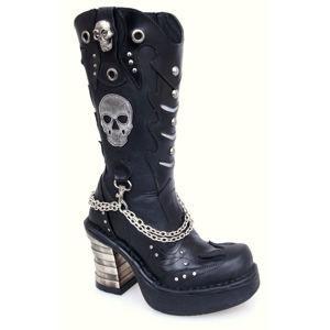 boty na podpatku dámské - 8304-S1 - NEW ROCK - M.8304-S1