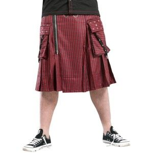 kilt pánský DEAD THREADS - KC9627RED