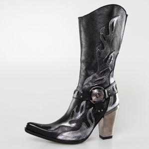 boty na podpatku NEW ROCK 7901-S2 vícebarevná 37