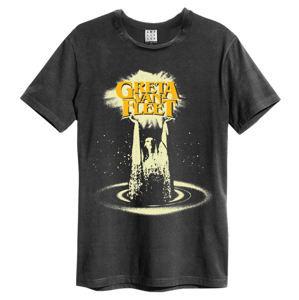 tričko metal AMPLIFIED Greta Van Fleet CHARCOAL černá XXL