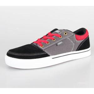 tenisky nízké pánské - Brake - ETNIES - Black/Grey/Red 44