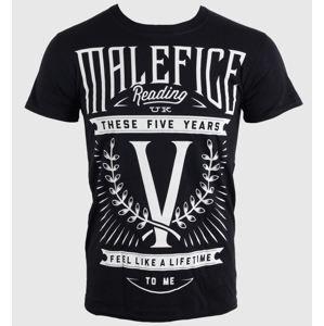 LIVE NATION Malefice Five Years černá