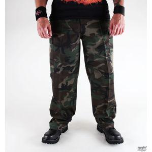 kalhoty plátěné BRANDIT US Ranger Hose Woodland M