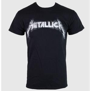 Tričko metal NNM Metallica Spiked Logo černá vícebarevná S