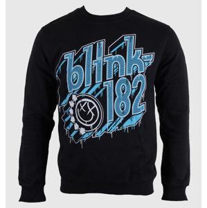 mikina bez kapuce pánské Blink 182 - Drip Type - LIVE NATION - PE12173