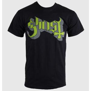 ROCK OFF Ghost Keyline Logo černá L