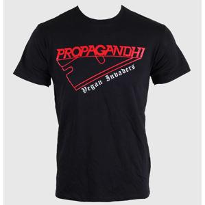 tričko metal KINGS ROAD Propagandhi Razor černá šedá hnědá XL