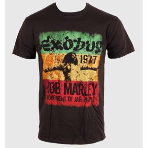 ROCK OFF Bob Marley Movement Dk černá šedá hnědá