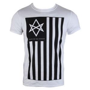 tričko metal BRAVADO EU Bring Me The Horizon Antivist Mens šedá bílá hnědá S