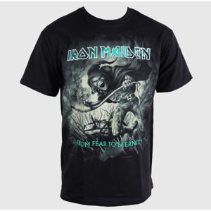 Tričko metal ROCK OFF Iron Maiden CM EXL FFTE Distressed černá L