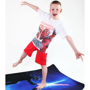 pyžamo chlapecké TV MANIA - Star Wars Clone - White - CLON 822