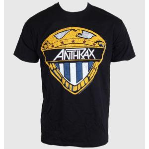 ROCK OFF Anthrax Eagle Shield černá
