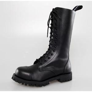 boty kožené ALTERCORE Black černá 42