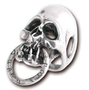 prsten Skull - ALCHEMY GOTHIC - R128 K