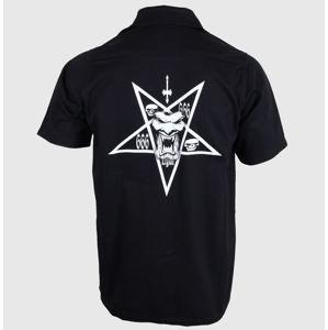 450967c69bd košile pánská GLOBE - Attfield - Vintage Black