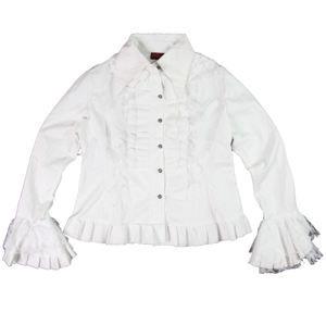 košile dámská ADERLASS - White - POŠKOZENÁ - N028