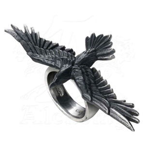 prsten ALCHEMY GOTHIC - Black Consort Feature Rings - R205 Y