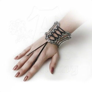 náramek ALCHEMY GOTHIC Tightlace Corset Bangle